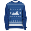 Image of Towboater Ugly Christmas Sweater Anchor Blue