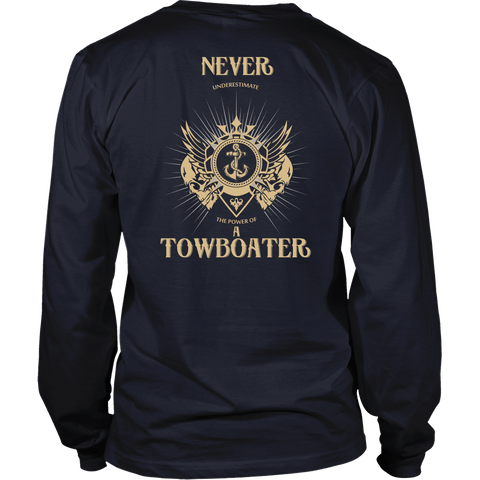 Never Underestimate A Towboater