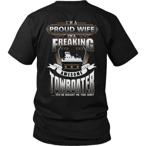 Proud Towboater's Wife