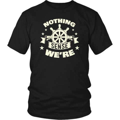 Towboat Captain Couple Design - Nothing Makes Sense When We're Apart