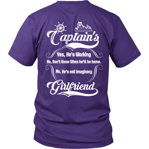 Captain's Girlfriend Tee