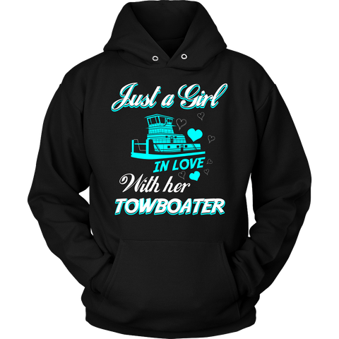 Just A Girl In Love With Her Towboater