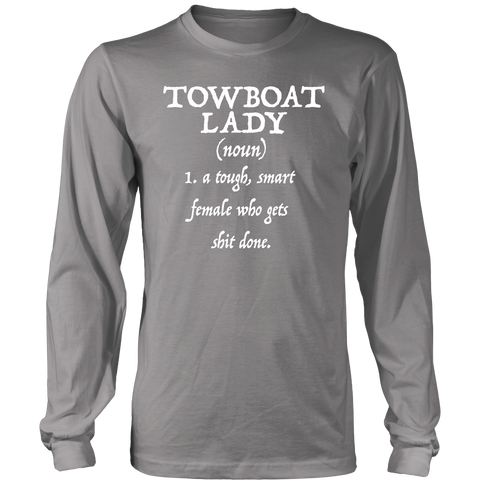 Towboat Lady (noun) Tee