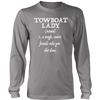 Image of Towboat Lady (noun) Tee