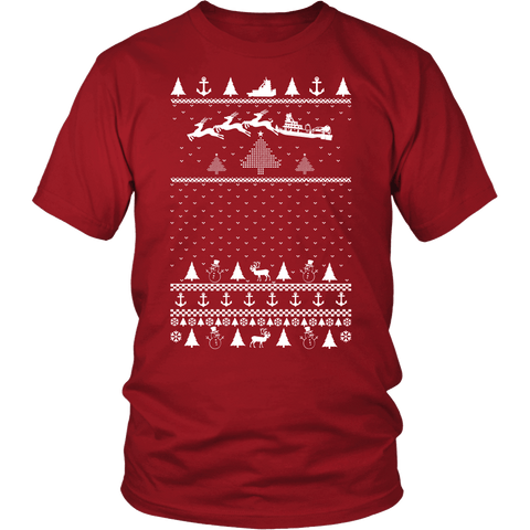 Towboat Santa - Holiday Tee