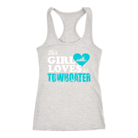 This Girl Loves Her Towboater Tank Top