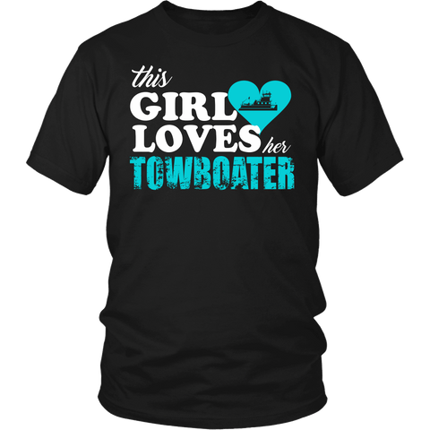 This Girl Loves Her Towboater