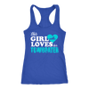 Image of This Girl Loves Her Towboater Tank Top
