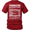 Image of Towboater Nutrition Fact