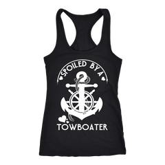 Spoiled By A Towboater Tank Top