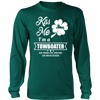 Image of Kiss Me I'm a Towboater - Funny St Pat day Tshirt