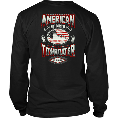 American By Birth - Towboater By Choice
