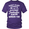 Image of Funny Towboaters Spouse Tee - Don't Flirt With Me