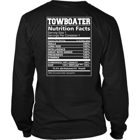 Towboater Nutrition Fact