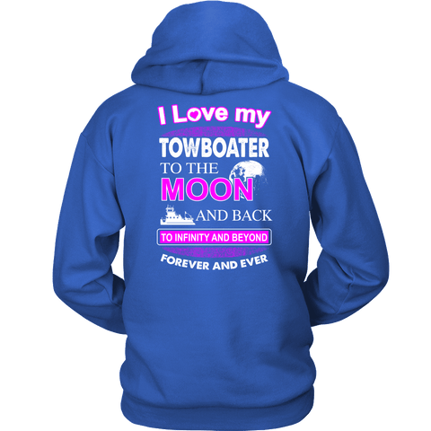 I Love My Towboater To The Moon And Back