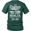 Image of Funny Chief Engineer Tee