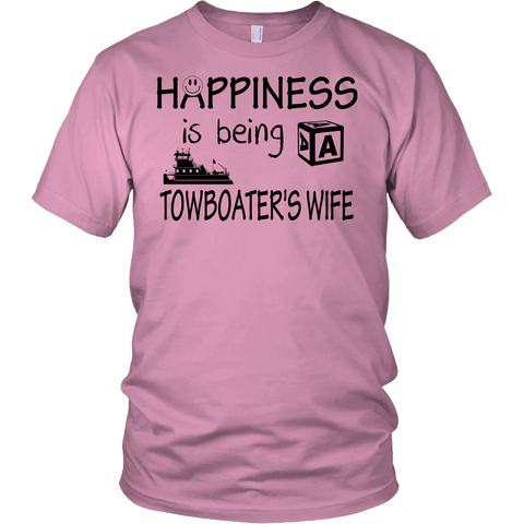 Happiness Is Being A Towboater's Wife