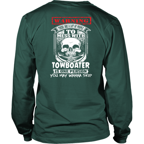 Never Mess With This Towboater