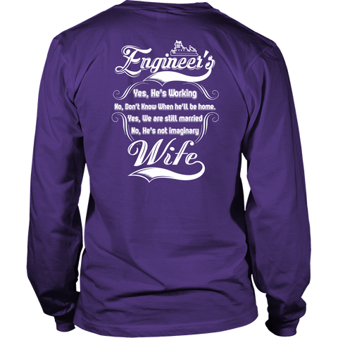 Engineer's Wife Tshirt