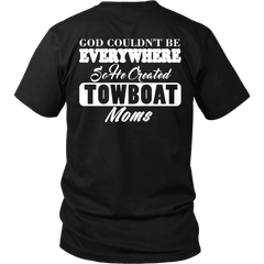 God Created Towboat Moms