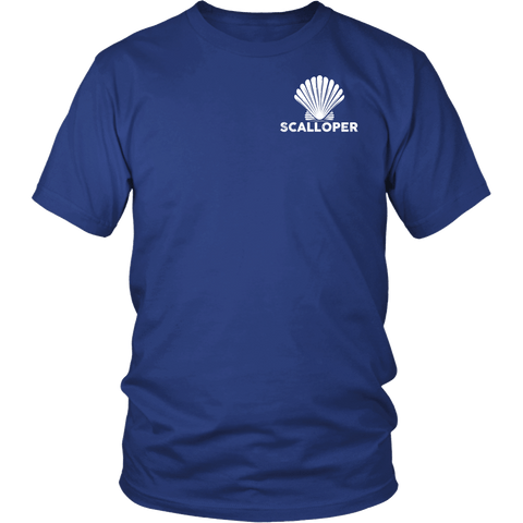 Scallopers Tee - Save Our Endangered Fishermen