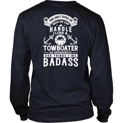 I Love A Towboater Shirt