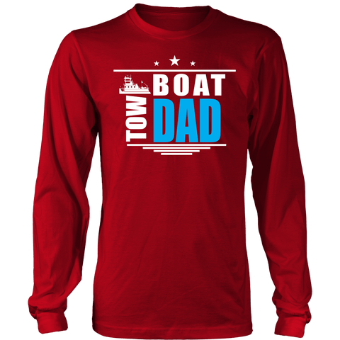 Towboat Mom & Dad Longsleeves