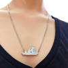 Image of Beautiful Silver -  Towboat Necklace - Towboater's Wife Necklace