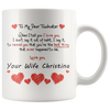 Image of Personalized Mug Christina