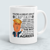 Image of You're A Great Great Captain Funny Mug