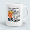 Image of You're A Great Great Towboater Funny Mug