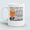Image of You're A Great Great Towboater's Wife Funny Mug