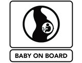 BABY ON BOARD ICON