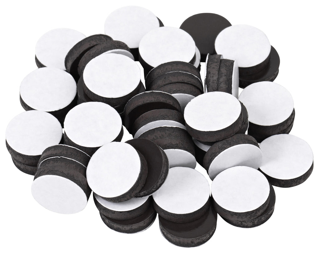 3/4 x 3/16- Inch Diameter Flexible Self Adhesive Magnets