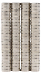 Bykes 80 Neodymium Magnets Super Strong Rare Earth Magnets Refrigerator Magnets - 1/4 x 1/16 inch Disc N48