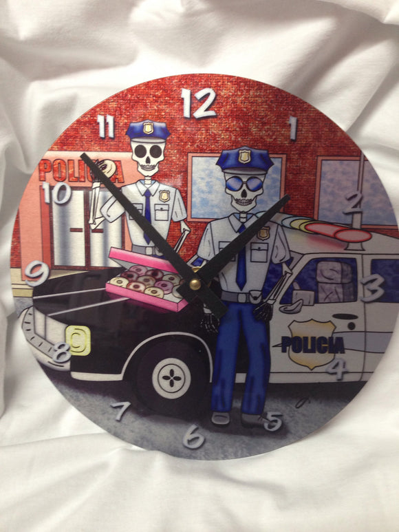 Clock - Day of the Dead Cops