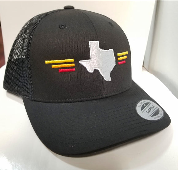 Hat- Texas state tri-color