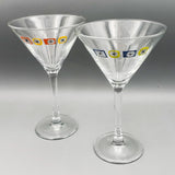 Atomic Martini Glass