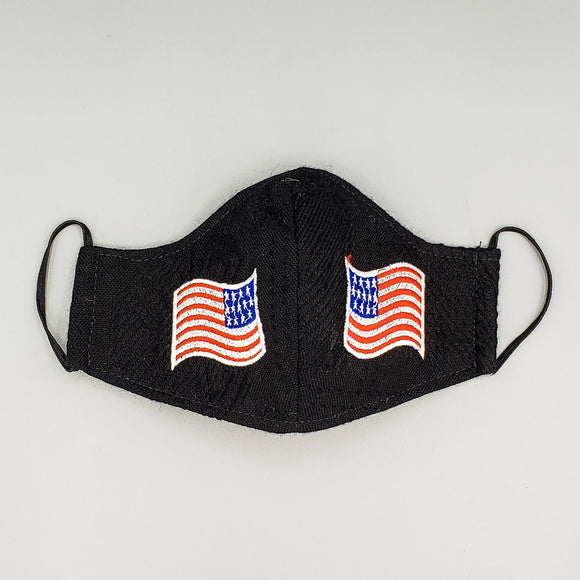 Embroidered Face Mask by Mayan Expressions [US Flag]