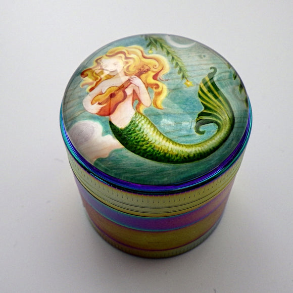 Herb Grinder - Mermaid by Eya Claire