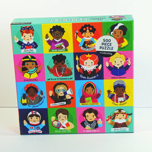 Jigsaw Puzzle - Little Feminist [500 Pcs]