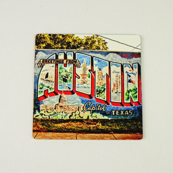 Magnet - Greetings From Austin Mural