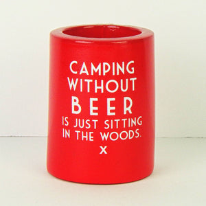 Koozie - Camping Without Beer