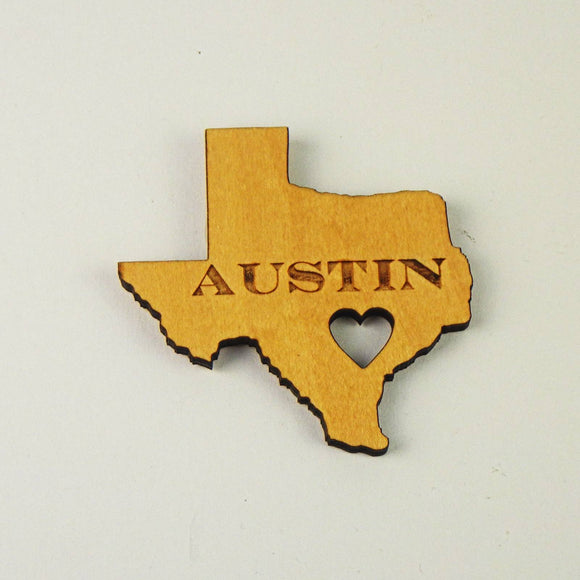Magnet - Austin Heart / Texas State