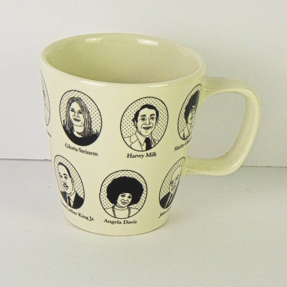 Ceramic Coffee Mug - Activist Icons