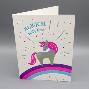 Birthday Card - Magical Party Time