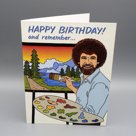 Birthday Card - No Mistakes