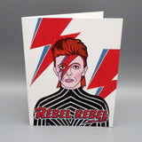 Birthday Card - Bowie