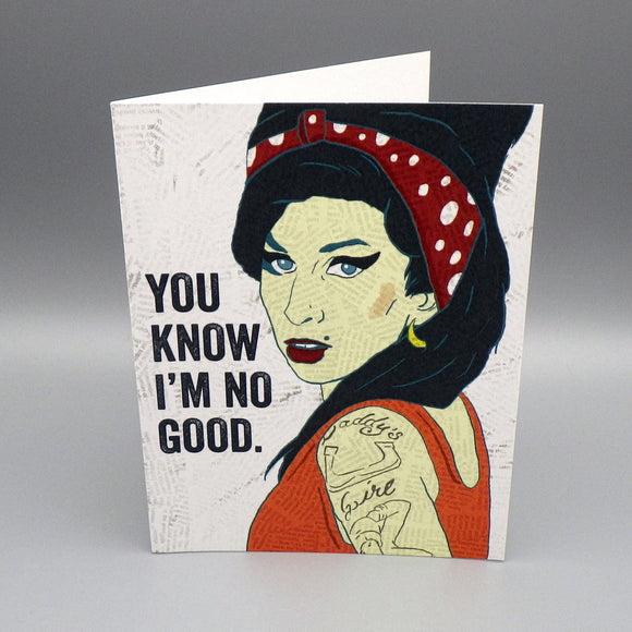 Birthday Card - No Good