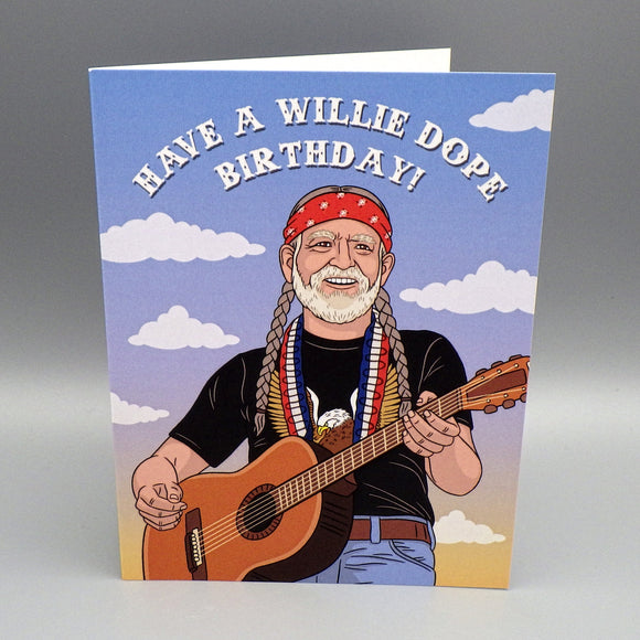 Birthday Card - Willie